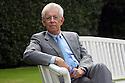 Mario Monti, President of Bocconi University, poses at Ambrosetti Workshop in Cernobbio, September 2, 2011. © Carlo Cerchioli