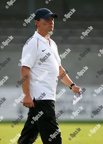 2009-07-23 / Seizoen 2009-2010 / Voetbal / Zwarte Leeuw / Trainer Serge Geldorf..Foto: Maarten Straetemans (SMB)