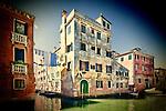 Typical Venetian houses, Cannaregio, Venice, Italy