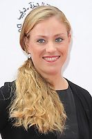 NON EXCLUSIVE PICTURE: PAUL TREADWAY / MATRIXPICTURES.CO.UK<br /> PLEASE CREDIT ALL USES<br /> <br /> WORLD RIGHTS<br /> <br /> German tennis player Angelique Kerber attending the WTA Pre Wimbledon Party, at London's Kensington Roof Gardens.<br /> <br /> 20th JUNE 2013<br /> <br /> REF: PTY 134225