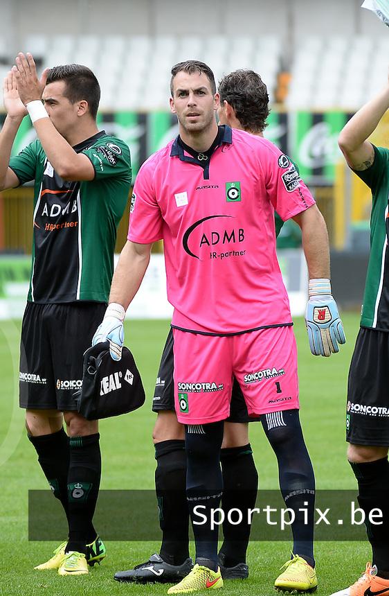 Cercle Brugge : Olivier Werner <br /> foto VDB / BART VANDENBROUCKE