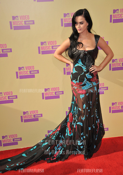 Katy Perry at the 2012 MTV Video Music Awards at Staples Center, Los Angeles..September 6, 2012  Los Angeles, CA.Picture: Paul Smith / Featureflash