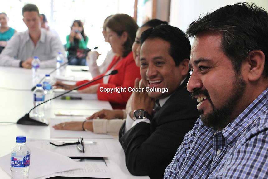 Querétaro, Qro. 19 de Octubre de 2016.-  Esta tarde sesionó la comisión especial legislativa para el sistema Anticorrupción.