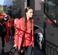 20200304  Parchal , Portugal : Belgian Alexandra 'Zandy' Soree (7) pictured during the female football game between the national teams of New Zealand , known as the Football Ferns and Belgium called the Red Flames on the first matchday of the Algarve Cup 2020 , a prestigious friendly womensoccer tournament in Portugal , on wednesday 4 th March 2020 in Parchal , Portugal . PHOTO SPORTPIX.BE | DAVID CATRY