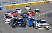 #18: Kyle Busch, Joe Gibbs Racing, Toyota Supra Extreme Concepts/iK9 and #2: Tyler Reddick, Richard Childress Racing, Chevrolet Camaro Hurdl