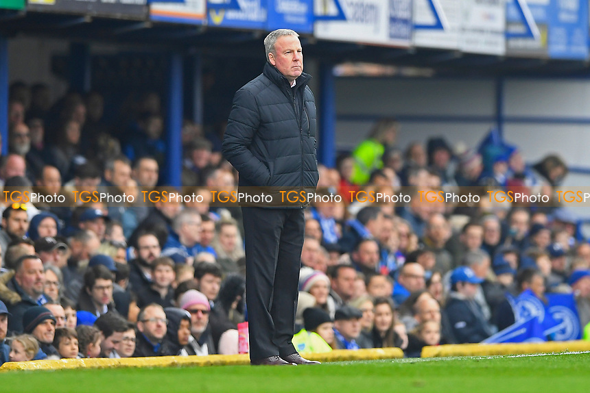 Portsmouth Manager Kenny Jackett during Portsmouth vs Rochdale, Sky Bet EFL League 1 Football at Fratton Park on 13th April 2019
