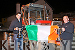 TOP PLOUGH: Mikey O'Halloran, Ballyheigue Ploughing Society and Aeneas Horan Ardfert, Ploughing Society in Ballyheigue on Friday.