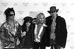 Motley Crue 1997 American Music Awards Nikki Sixx Mick Mars Vince Neil and Tommy Lee<br /> &copy; Chris Walter