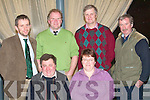 MEETING: The Kerry Holstein Friesian Breeders Association held a briefing in the Ballyroe Heights Hotel last Thursday night, attending were, seated l-r: Florence Sullivan, Currans Village, and Hanna Landers (secretary), Ballymac. Back l-r: Michael O'Grady (Keenans of Carlow, manufacturers of Diet Feeders), Martin Kavanagh (guest speaker), Patrick Landers (president KHFBA), Ballymac, and Peter Kennelly (chairman) Ardfert.   Copyright Kerry's Eye 2008