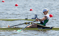 Brandenburg. GERMANY.<br /> IRL W1X Sanita PUSPURE. 2016 European Rowing Championships at the Regattastrecke Beetzsee<br /> <br /> Saturday  07/05/2016<br /> <br /> [Mandatory Credit; Peter SPURRIER/Intersport-images]