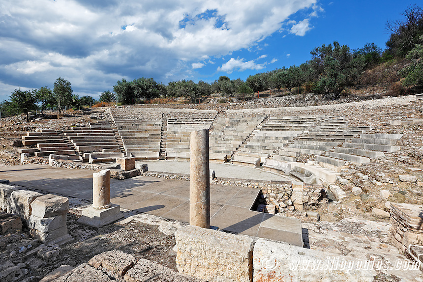 Small Ancient Theater Epidaurus (4th Century  B.C.), Greece