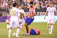 East Rutherford (EUA), 26/07/2019 - Amistoso Internacional / Real Madrid x Atlético de Madrid -  Dani Carvajal do  Real  Madrid e Diego Costa do Atlético Madrid jogo válido pela International Champions Cup no MetLife Stadium em East Rutherford nos Estados Unidos na noite desta sexta-feira, 26. (Foto: William Volcov/Brazil Photo Press/Agencia O Globo) Esportes