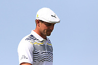 Bryson Dechambeau (USA) on the 4th tee during Round 3 of the Omega Dubai Desert Classic, Emirates Golf Club, Dubai,  United Arab Emirates. 26/01/2019<br /> Picture: Golffile | Thos Caffrey<br /> <br /> <br /> All photo usage must carry mandatory copyright credit (© Golffile | Thos Caffrey)