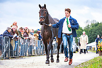 AUS-Christopher Burton with Cooley Lands during the First Horse Inspection. 2017 NED-Military Boekelo CCIO3* FEI Nation Cup Eventing. Wednesday 4 October. Copyright Photo: Libby Law Photography