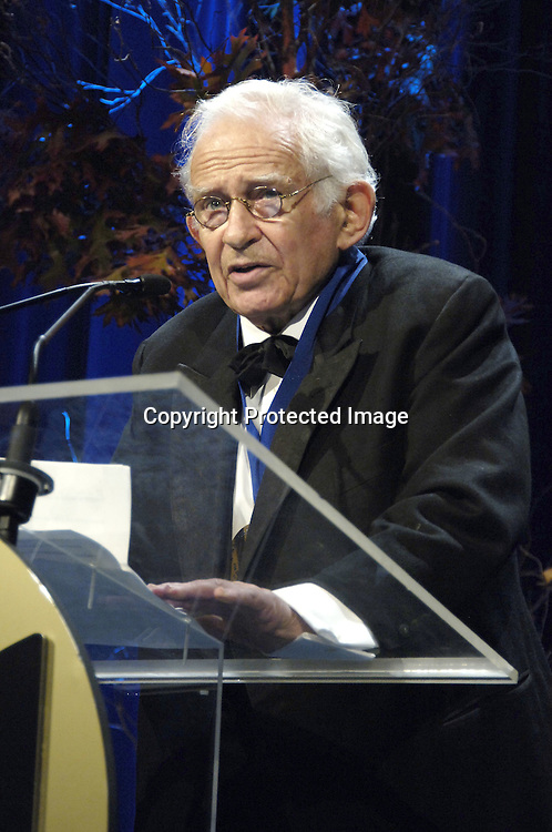Norman Mailer, winner of The Medal for Distinguished Contribution to American Letters ..at The 2005 National Book Awards on November 16, 2005 at The Marriott Marquis Hotel. ..Photo by Robin Platzer, Twin Images