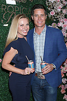 LOS ANGELES - MAR 11:  Ivana Firestone and Andrew Firestone at the Seagram's Escapes Tropical Rose Launch Party at the hClub on March 11, 2020 in Los Angeles, CA