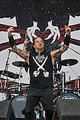 Jun 13, 2009: DEVILDRIVER live at Download Festival UK