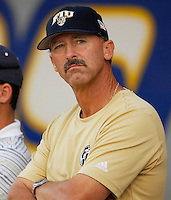 "7 November 2007: Florida International University Head Baseball Coach Henry ""Turtle"" Thomas watches his players during an inter-squad scrimmage at University Park Stadium in Miami, Florida."