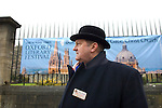 Tony Fox, Head Custodian of Christ Church on St Aldates during the Sunday Times Oxford Literary Festival, UK, 16 - 24 March 2013. <br />