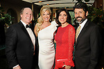 From left: Charles and Tammie Johnson with Stacey and Al Lindseth at the Recipe for Success' Delicious Alchemy Dinner at the home of Becca Cason Thrash Wednesday April 19,2017.(Dave Rossman Photo)