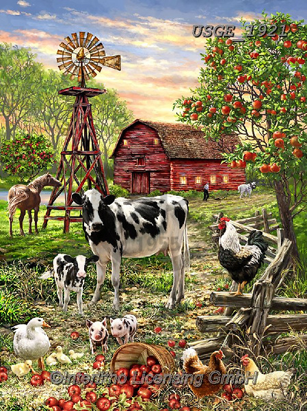 Dona Gelsinger, REALISTIC ANIMALS, REALISTISCHE TIERE, ANIMALES REALISTICOS, paintings+++++,USGE1921,#a#, EVERYDAY