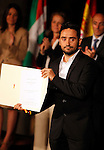 Director Juan Antonio Bayona receives the National Cinema Award during the 61 San Sebastian Film Festival, in San Sebastian, Spain. September 21, 2013. (ALTERPHOTOS/Victor Blanco)
