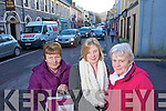 Lucy O'Rielly, Eileen O'Rielly and Annie Madden Christmas Shopping in Kenmare.