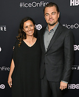 """05 June 2019 - Los Angeles, California - Leila Conners, Leonardo DiCaprio. HBO's """"Ice on Fire"""" Los Angeles Premiere held at LACMA. <br /> CAP/ADM/BT<br /> ©BT/ADM/Capital Pictures"""