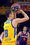 League ACB-ENDESA 2017/2018 - Game: 12.<br /> FC Barcelona Lassa vs Herbalife Gran Canaria: 77-88.<br /> Marcus Eriksson.