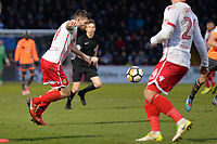 Danny Newton of Stevenage shoots  during Stevenage vs Reading, Emirates FA Cup Football at the Lamex Stadium on 6th January 2018
