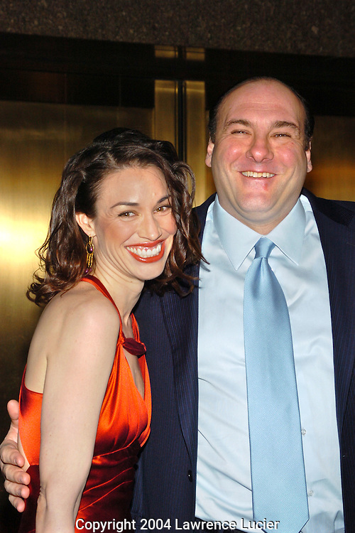 Lora Somoza and James Gandolfini