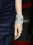 """Actress Gwyneth Paltrow 's bracelet at the """"Iron Man"""" premiere at Grauman's Chinese Theatre on April 30, 2008 in Hollywood, California."""
