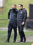 13.10.2018 Partick Thistle v Dundee Utd: Gerry Britton, Partick Thistle caretaker manager and chief executive