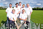 DINGOS: Playing a League friendly 20-20 at the new cricket grounds at the Tralee Sports Complex,on Thursday evening, they were the Dingle Dingos Cricket Team. they were, Ben Farr, Elton Getkate, Chris Smails, Mark Munday,Kallum Moriarty,Kalim Stanley and James Windle.