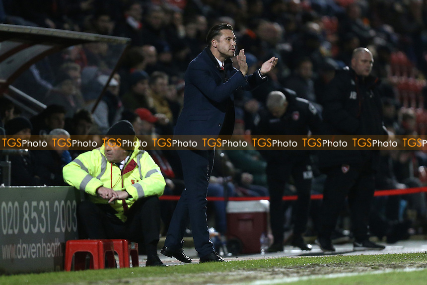 Leyton Orient manager Danny Webb during Leyton Orient vs Morecambe, Sky Bet EFL League 2 Football at the Matchroom Stadium on 7th February 2017