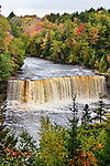 Tahquamenon Falls In The Autumn, Michigan, Upper Peninsula, USA