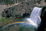 Rainbow at Rainbow Falls, Middle Fork of the San Joaquin River, Ansel Adams Wilderness, Eastern Sierra, CALIFORNIA