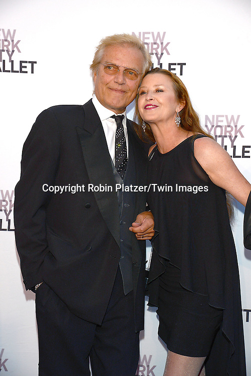Peter Martins and wife Darci Kissler attend the New York City Ballet's 3rd Annual  Fall Fashion Gala on September 23, 2014 at David Koch Theatre in Lincoln Center in New York City. <br /> <br /> photo by Robin Platzer/Twin Images<br />  <br /> phone number 212-935-0770