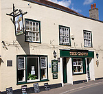 The Crown former coaching inn and historic buildings in High Street, Manningtree, Essex, England