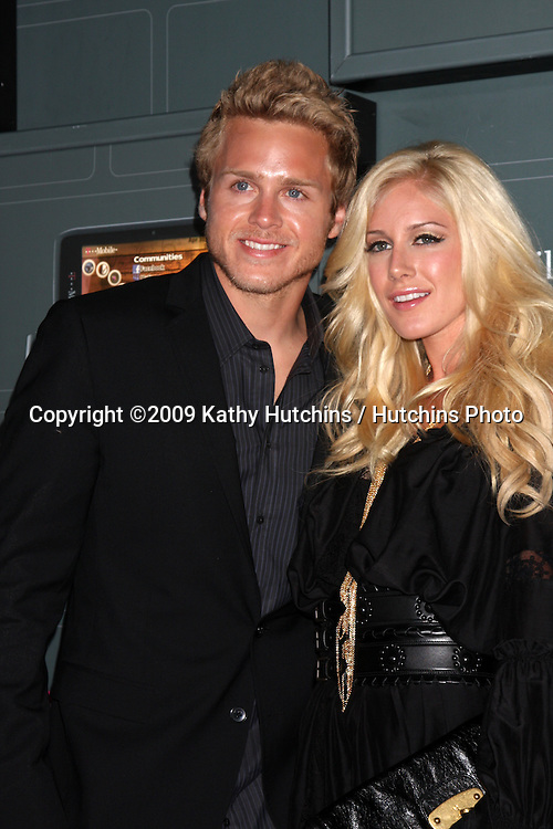 Spencer Pratt & Heidi Montag arriving at the  T-Mobile Sidekick LX Launch Event at  Paramount Studios in.in Los Angeles, CA on May 14, 2009 .©2009 Kathy Hutchins / Hutchins Photo...                .