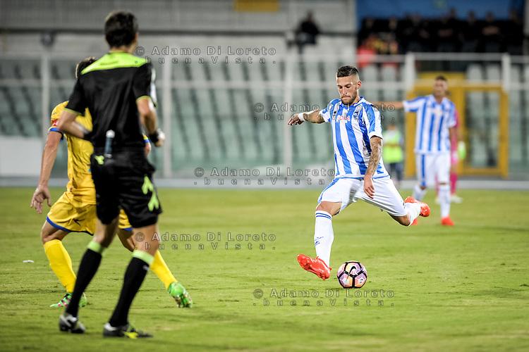 Birgahi Cristaino (PESCARA) during the Italian Cup - TIM CUP -match between Pescara vs Frosinone, on August 13, 2016. Photo: Adamo Di Loreto/BuenaVista*photo