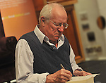Robert Fisk at the Rolling Sun Book Festival in Westport over the weekend.<br /> Pic Conor McKeown