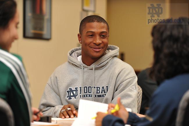Athletes & Academics..Photo by Matt Cashore/University of Notre Dame