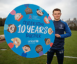23.11.2018 Motherwell presser: Glenn Middleton promoting 10 years of Rangers and UNICEF partnership