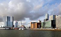 Hoogbouw  aan de Rijnhaven in Rotterdam