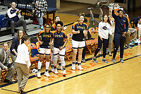 SAN ANTONIO, TX - FEBRUARY 2, 2018: The University of Texas at San Antonio Roadrunners defeat the University of North Texas Mean Green 70-58 at the UTSA Convocation Center. (Photo by Jeff Huehn)