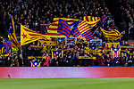 FC Barcelona fans during the La Liga 2018-19 match between FC Barcelona and Villarreal at Camp Nou on 02 December 2018 in Barcelona, Spain. Photo by Vicens Gimenez / Power Sport Images