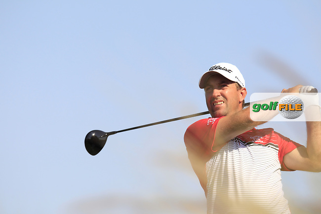 Darren FICHARDT (RSA) tees off the 9th tee during Thursday's Round 2 of the 2015 Commercial Bank Qatar Masters held at Doha Golf Club, Doha, Qatar.: Picture Eoin Clarke, www.golffile.ie: 1/22/2015