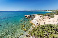 Farangas beach in Paros island, Greece