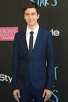NEW YORK CITY, NY, USA - JUNE 02: Nat Wolff at the New York Premiere Of 'The Fault In Our Stars' held at Ziegfeld Theatre on June 2, 2014 in New York City, New York, United States. (Photo by Celebrity Monitor)